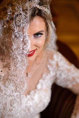 Portret Mireasa | Hilton | Bucuresti | fotograg de nunta